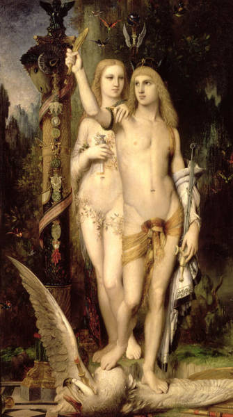 Mythology Painting - Jason And Medea by Gustave Moreau
