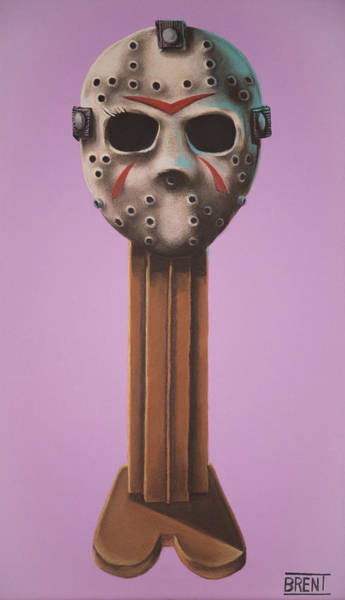 Jason Vorhees Art Print