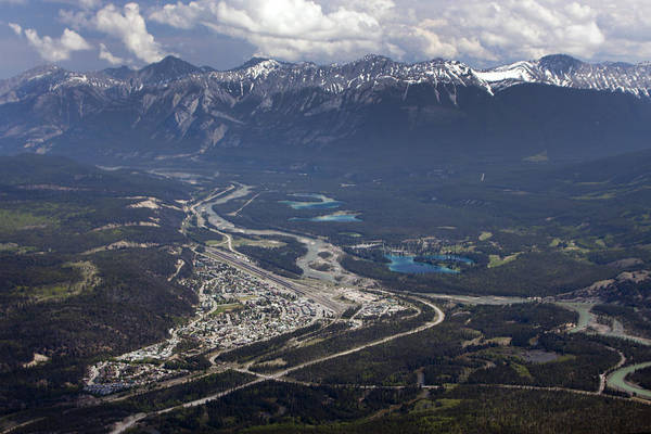 Photograph - Jasper And The Athabasca River by Tony Mills