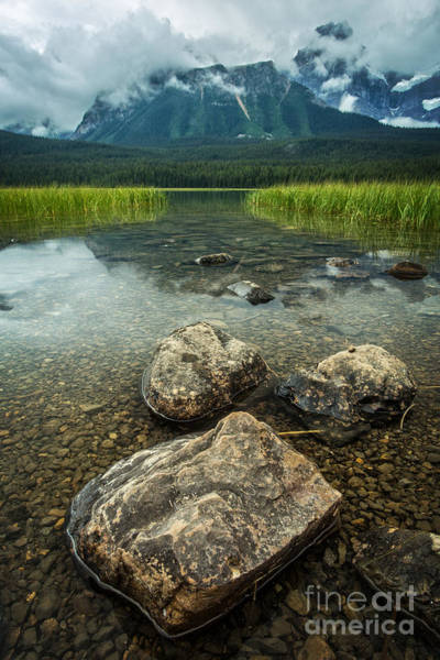 Canmore Photograph - Jasper National Park by Edward Fielding