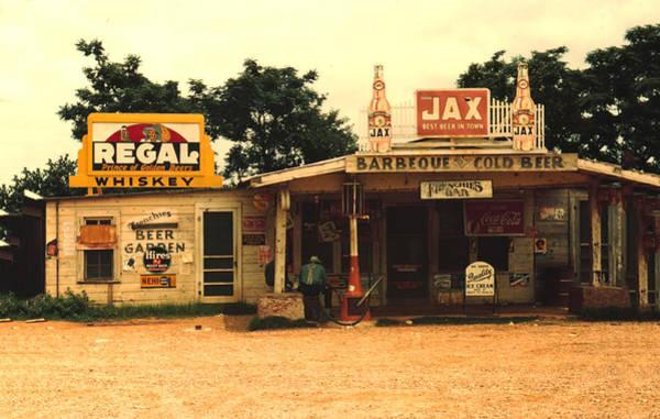 Barbeque Digital Art - Jax Juke Joint Melrose Louisiana by Marion Wolcott