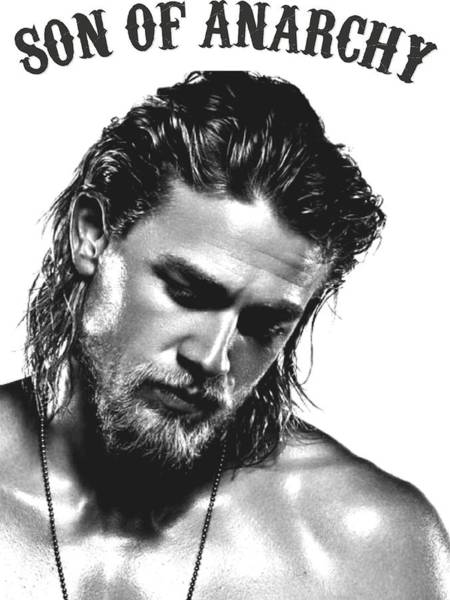 Sexy Digital Art - Jax Teller - Son Of Anarchy by Helena Kay