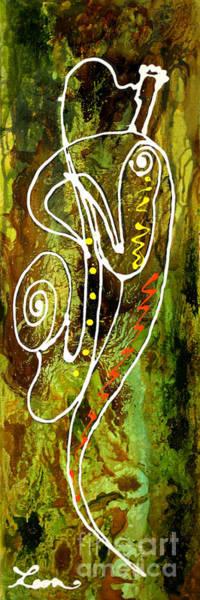 Wall Art - Painting - Jazz 1 by Leon Zernitsky