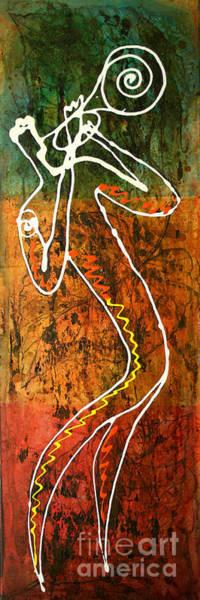 Wall Art - Painting - Jazz 2 by Leon Zernitsky