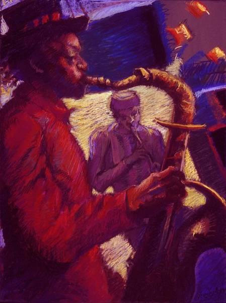 Painting - Jazz Duet by Ellen Dreibelbis