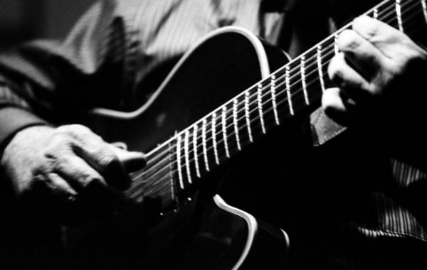 Photograph - Jazz Guitar by Keith May