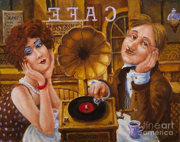 Painting - Jazz by Igor Postash