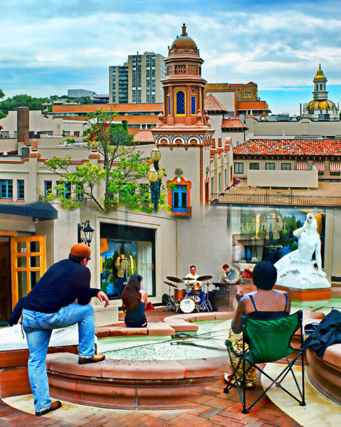 Country Club Plaza Photograph - Jazz In The Plaza by Nikolyn McDonald