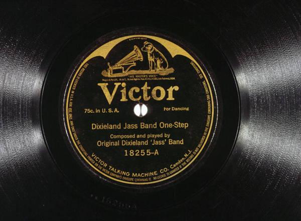 Artifact Painting - Jazz Record, 1917 by Granger