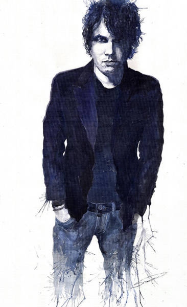 Figurativ Wall Art - Painting - Jazz Rock John Mayer 07 by Yuriy Shevchuk