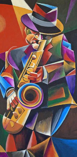 Jazz Sax Art Print by Bob Gregory