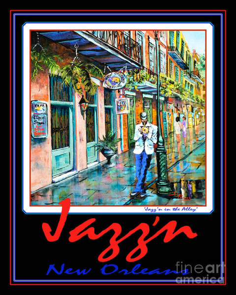 Painting - Jazz'n New Orleans by Dianne Parks