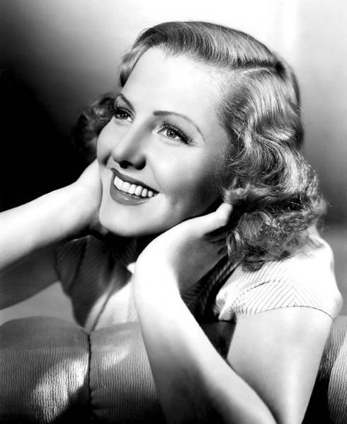 Leading Actress Wall Art - Photograph - Jean Arthur by Daniel Hagerman