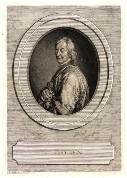 John Dryden Wall Art - Drawing - Jean-baptiste De Grateloup French, 1735-1817 After Godfrey by Litz Collection
