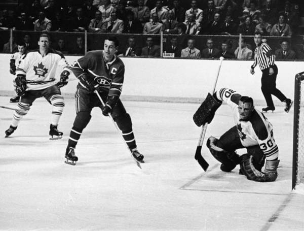 National Hockey League Wall Art - Photograph - Jean Beliveau Poster by Gianfranco Weiss