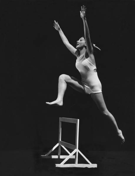 Wall Art - Photograph - Jean Parker Hurdles by Russell Ball