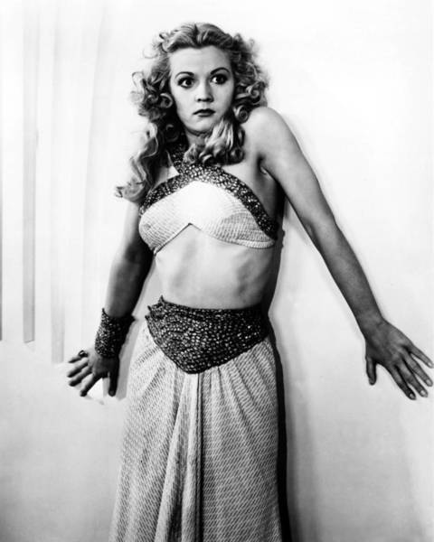 Flash Photograph - Jean Rogers In Flash Gordon  by Silver Screen