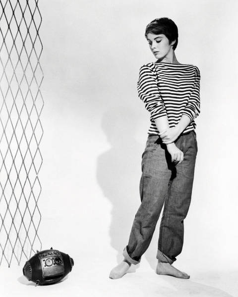 Mice Photograph - Jean Seberg In The Mouse That Roared  by Silver Screen