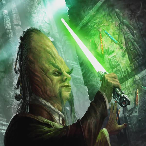 Wall Art - Digital Art - Jedi Archaeologist by Ryan Barger