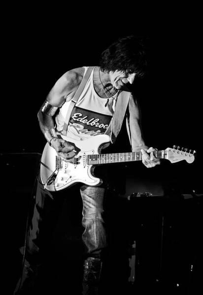 Summerfest Photograph - Jeff Beck On Guitar 3 by Jennifer Rondinelli Reilly - Fine Art Photography