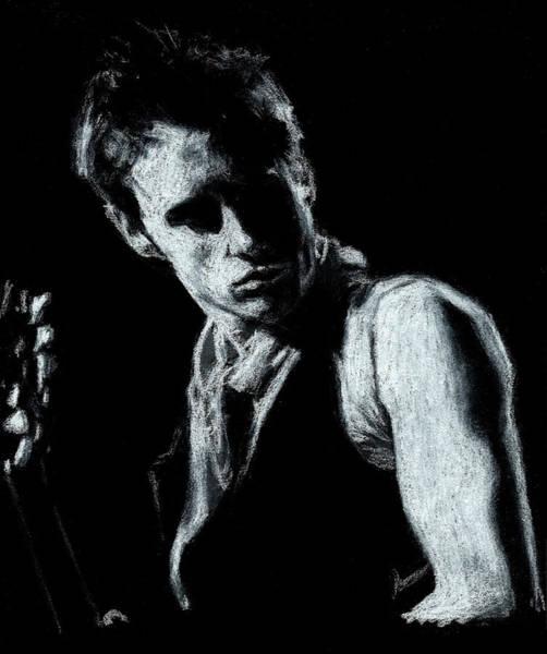 Jeff Buckley Wall Art - Drawing - Jeff Buckley 2 by Teresa Beveridge
