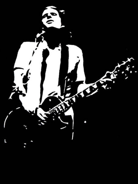 Jeff Buckley Wall Art - Painting - Jeff Buckley by Monofaces