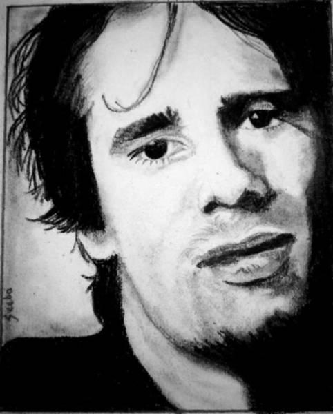 Jeff Buckley Wall Art - Drawing - Jeff Buckley by Seeba Pillai