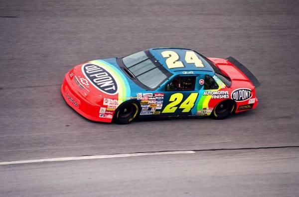 Daytona Photograph - Jeff Gordon by Retro Images Archive