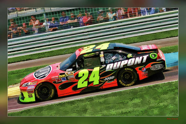 Jeff Gordon Art Print