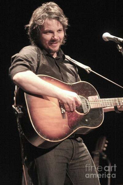 Wall Art - Photograph - Wilco - Jeff Tweedy by Concert Photos
