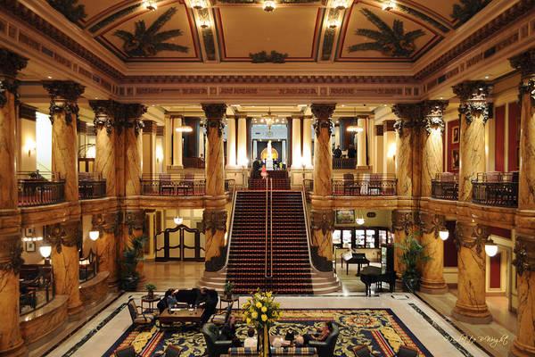 Photograph - Jefferson Hotel Rotunda by Paulette B Wright