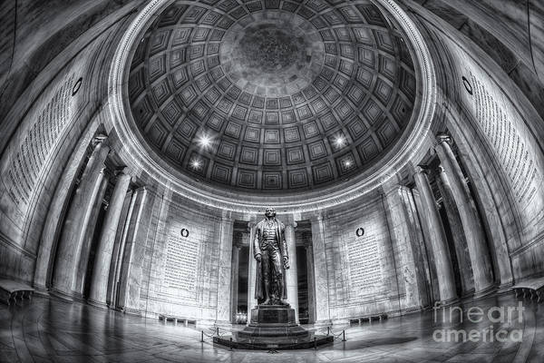 Photograph - Jefferson Memorial Interior II by Clarence Holmes
