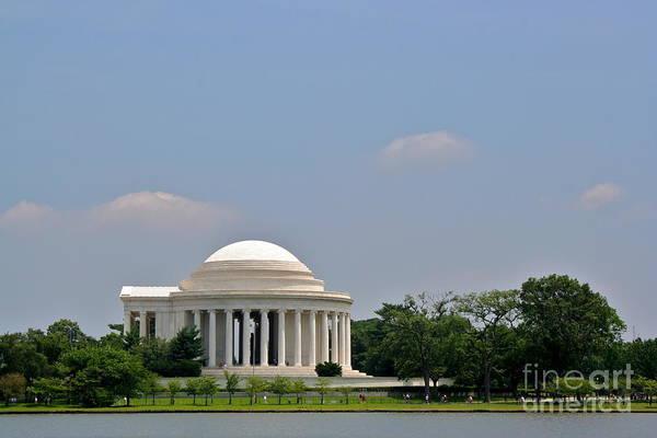 Photograph - Jefferson Memorial by Jim Gillen