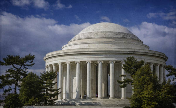 Photograph - Jefferson Memorial by Joan Carroll