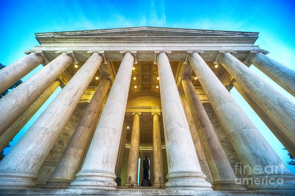 Photograph - Jefferson Memorial by Ray Warren