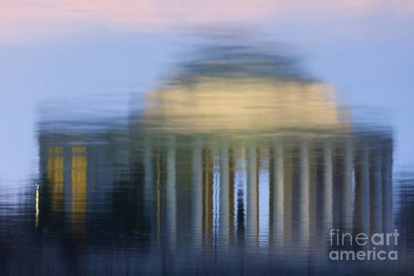 Jefferson Memorial Reflection Art Print