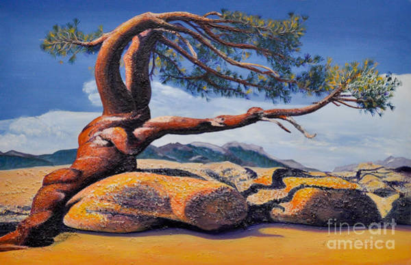 Jeffrey Tree Art Print