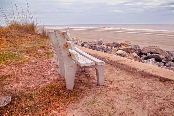Jekyll Island Photograph - Jekyll Island Seats Available  by Betsy Knapp