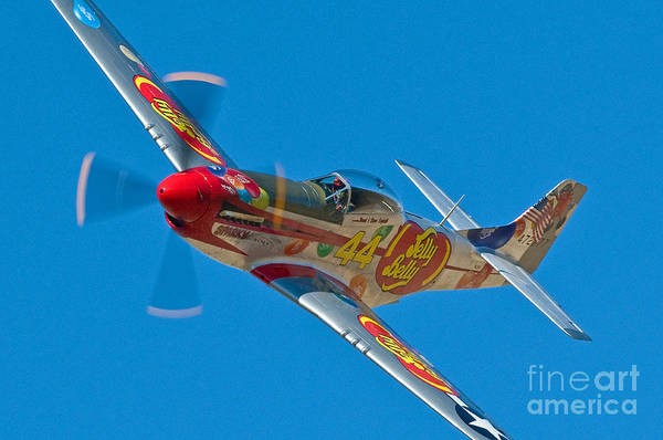 Jelly Belly Photograph - Jelly Belly- Reno Air Race by Steve Rowland