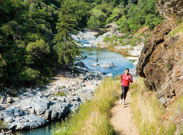 Yuba River Photograph - Jen Homan And Kavu Trail Running by Josh Miller Photography