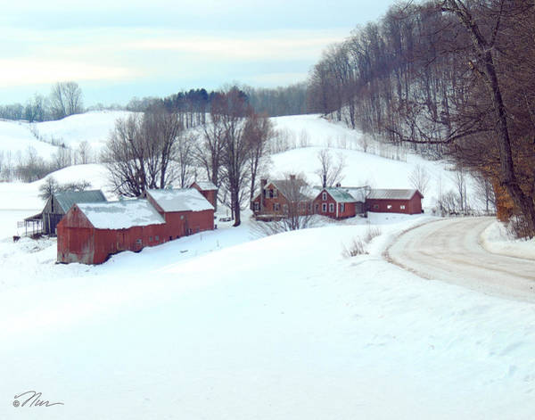 Photograph - Jenne Farm In Winter by Nancy Griswold