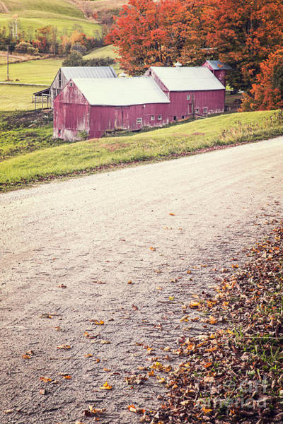 Photograph - Jenne Farm Vermont by Edward Fielding