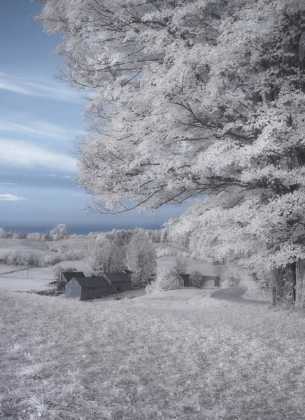 Ives Photograph - Jenne Farm Vermont In Infrared by Joann Vitali