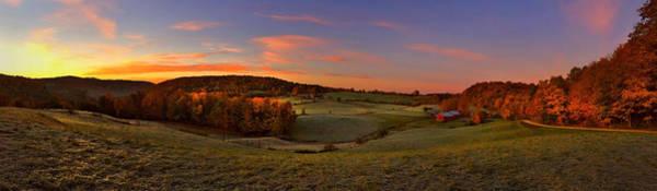 Ives Photograph - Jenne Farm Vermont Panoramic by Joann Vitali