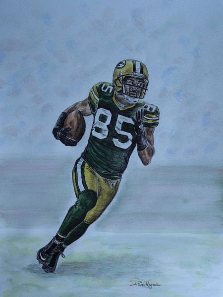 Painting - Jennings On The Run by Dan Wagner