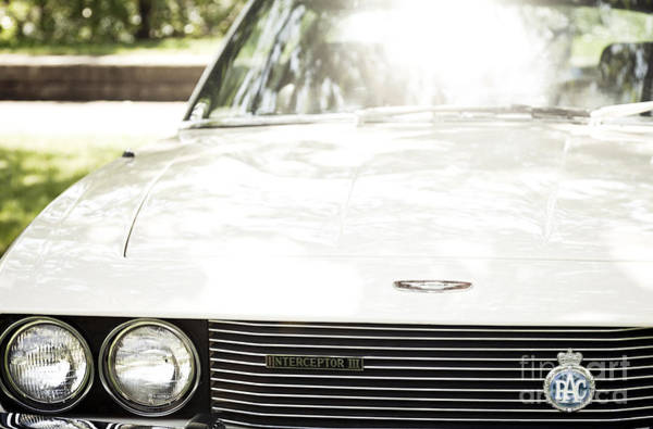 Photograph - Jensen Interceptor 3 - Front View by RicharD Murphy