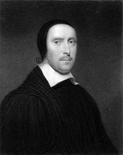 Wall Art - Drawing - Jeremy Taylor (1613 - 1667) Clergyman by Mary Evans Picture Library
