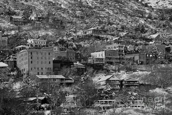 Photograph - Jerome Az New Year's Snow by Ron Chilston