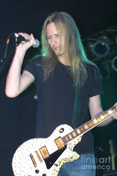 Jerry Cantrell Wall Art - Photograph - Jerry Cantrell by Concert Photos