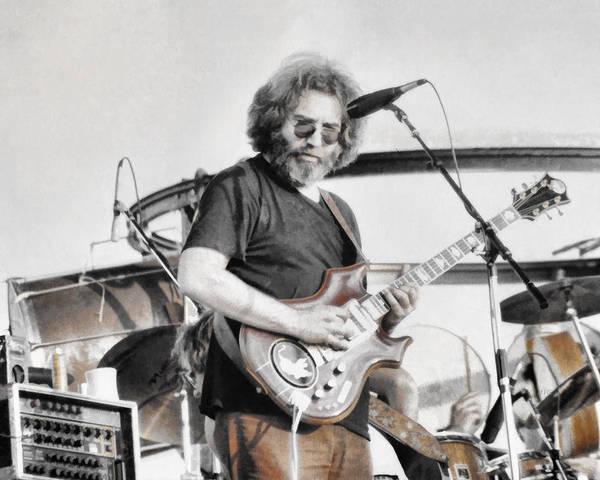 Grateful Dead Photograph - Jerry Garcia by Allan Van Gasbeck